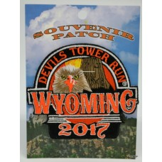 Devils Tower Run 2017 Patch