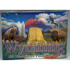 Devils Tower and Wyoming Puzzle