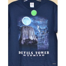 Devils Tower Wolf T-Shirt