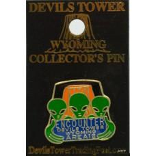 Devils Tower Wolf Burnout T-Shirt