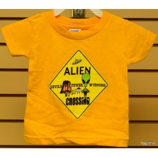 Alien Crossing Childrens T-Shirt