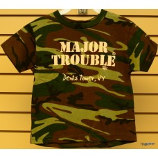 Devils Tower Major Trouble Childrens T-Shirt
