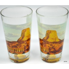 Devils Tower Beer Glass