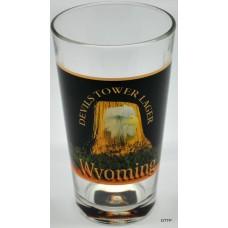 Devils Tower Lager Beer Glass
