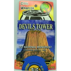 Devils Tower Can Coozie