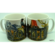 Wyoming Puff Coffee Mug