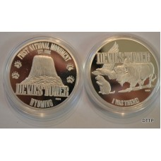 Devils Tower Collector Coin