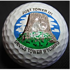Devils Tower Golf Balls