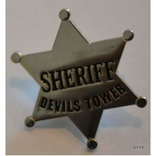 Devils Tower Sheriff Badge