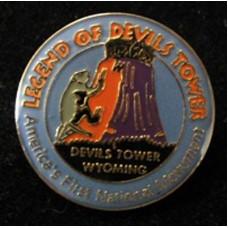 The Legend Devils Tower Hat Tack