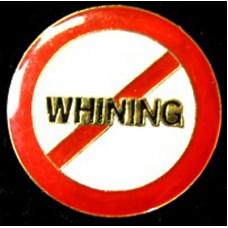 No Whining Hat Tack