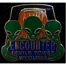 3 Alien Encounter Devils Tower Hat Tack