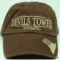 Devils Tower Chocolate Hat