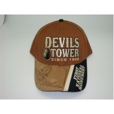 Devils Tower First National Monument Hat Style #2