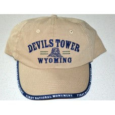 Devils Tower First National Monument Hat Style #3