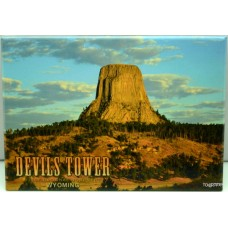 Devils Tower Morning Magnet