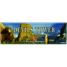 Devils Tower Panoramic Magnet