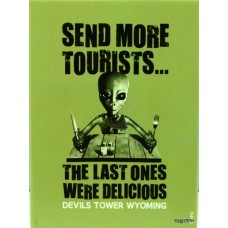 Send More Tourists Magnet