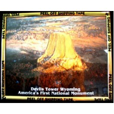 Magic Effects Devils Tower Framed Picture