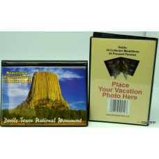 Devils Tower Medallion and Penny Book