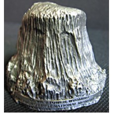 Devils Tower Metal Paper Weight