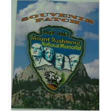 Mount Rushmore Arrowhead Patch