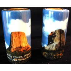 Legend of Devils Tower Salt and Pepper Shakers