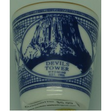 Devils Tower Wyoming EST. 1906 Shot Glass