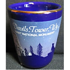 Devils Tower First National Monument Shot Glass