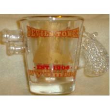 Devils Tower Shot Glass Pistol Grip and Barrel