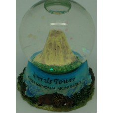 Devils Tower Small Snow Globe