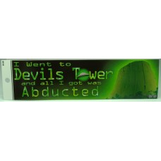 Abducted Bumper Sticker
