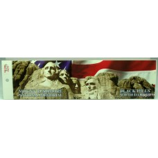 Mount Rushmore Bumper Sticker